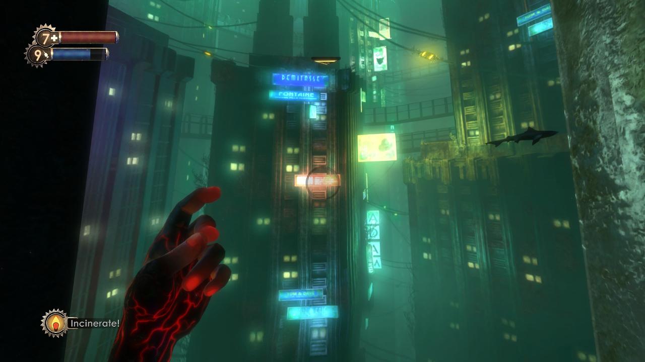 Blick auf die Unterwasserstadt Rapture