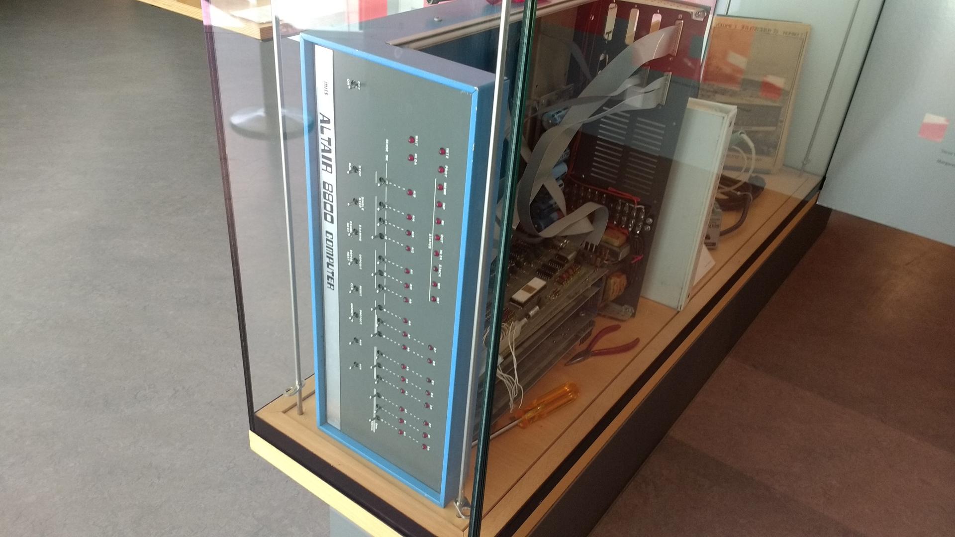 Geöffneter Atari 8800