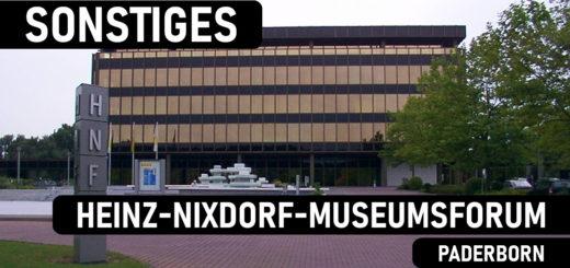 Fassade des Heinz-Nixdorf-Museumsforums