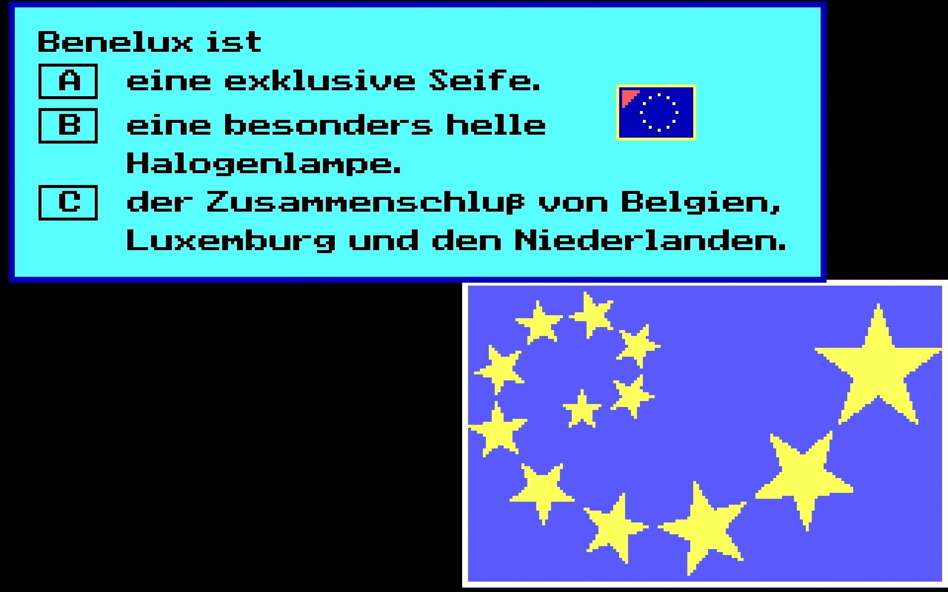 Auf dem Weg nach Europa: Frage zu Benelux