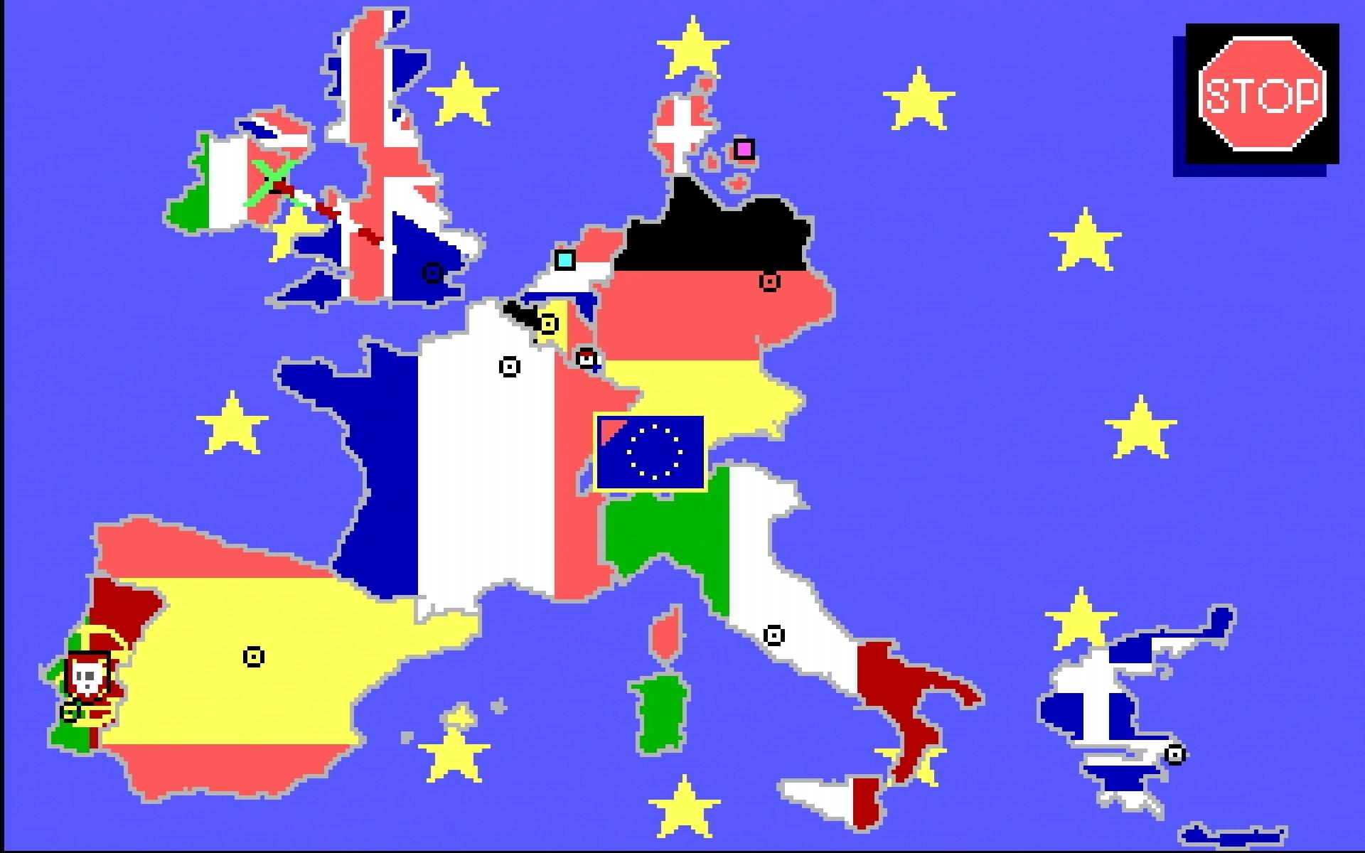 Auf dem Weg nach Europa: Karte