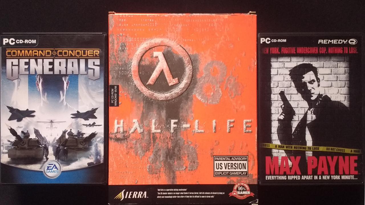Ehemals indizierte Spiele: Command & Conquer: Generals, Half-Life, Max Payne