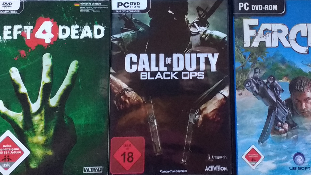 Von Publishern geschnittene Spiele: Left 4 Dead, Call of Duty: Black Ops, Far Cry
