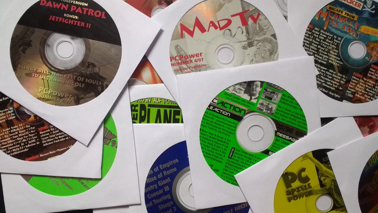 Diverse Demo-CDs